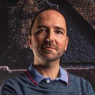 Bertrand LALY - gérant et graphiste